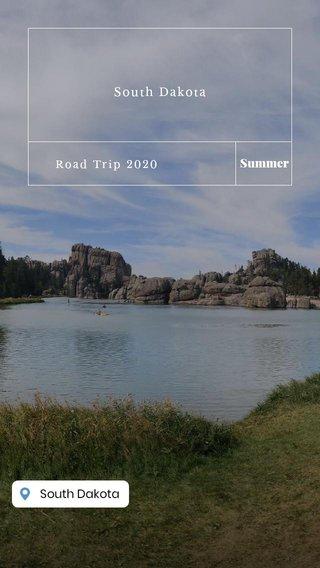 Summer South Dakota Road Trip 2020