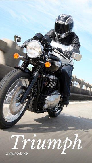 Triumph #motorbike