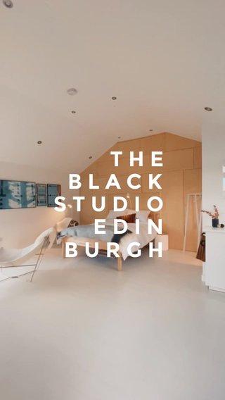 BLACK THE STUDIO EDIN BURGH