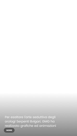 Per esaltare l'arte seduttiva degli orologi Serpenti Bvlgari, GMG ha realizzato grafiche ed animazioni in 3D con tecniche di texturing, rendering e lighting. . . Emphasizing the seductive design of Bulgari's Serpenti watch line, GMG recreated the luxury watches with vivid 3D animations made possible by the latest techniques in texturing, rendering, and lighting. . . #GMGProduction #Bvlgari #SerpentiSeduttori