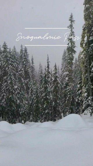 Snoqualmie Pass #snow #pnw #nature #mountains #hiking
