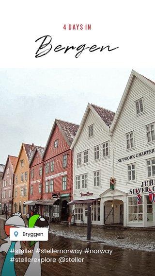 Bergen #steller #stellernorway #norway #stellerexplore @steller 4 DAYS IN