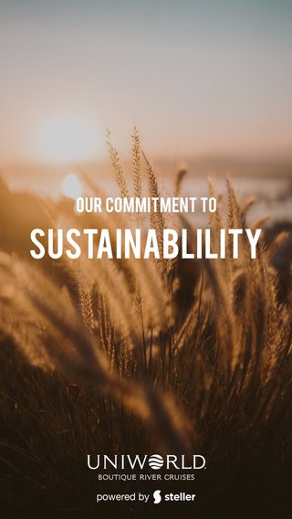 Sustainablility Our Commitment to