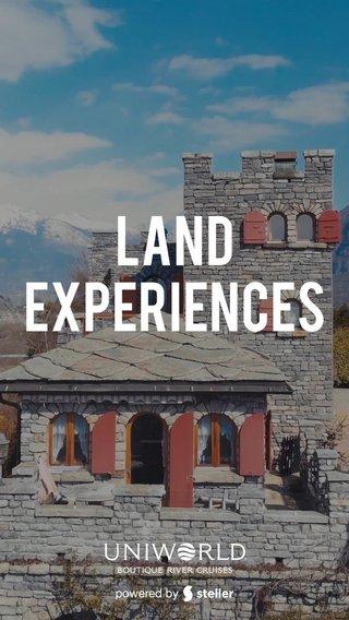 Land Experiences