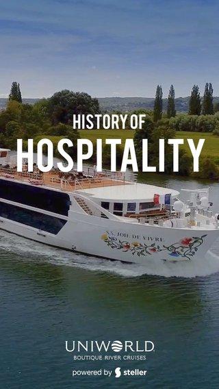 Hospitality History of
