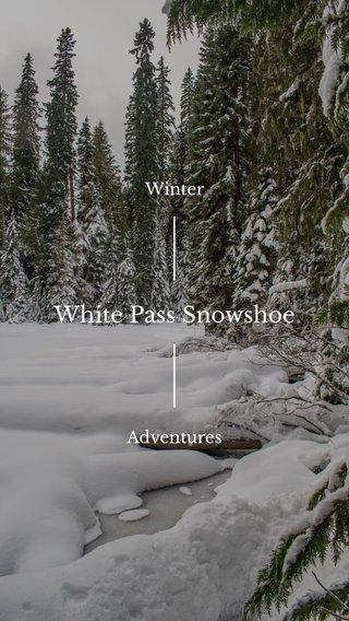 White Pass Snowshoe Winter Adventures