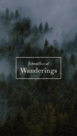 Wanderings Woodland