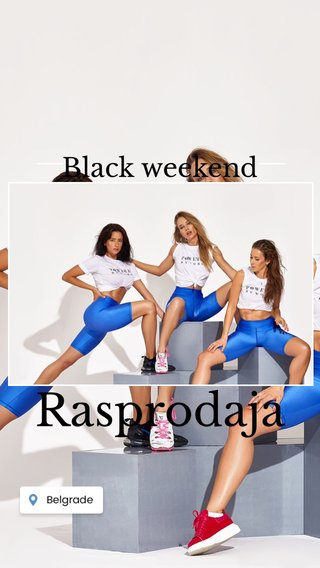 Rasprodaja Black weekend