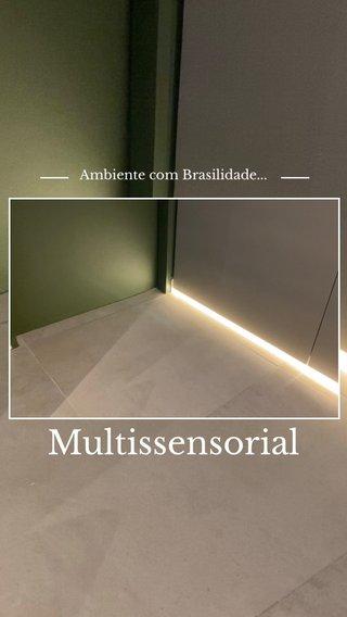 Multissensorial Ambiente com Brasilidade...