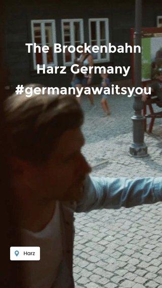The Brockenbahn Harz Germany #germanyawaitsyou