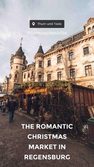 THE ROMANTIC CHRISTMAS MARKET IN REGENSBURG #GermanyAwaitsYou