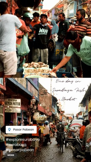 One day in Surabaya Fish Market #exploresurabaya #surabaya #pasarpabean #fishmarket #streetphotography