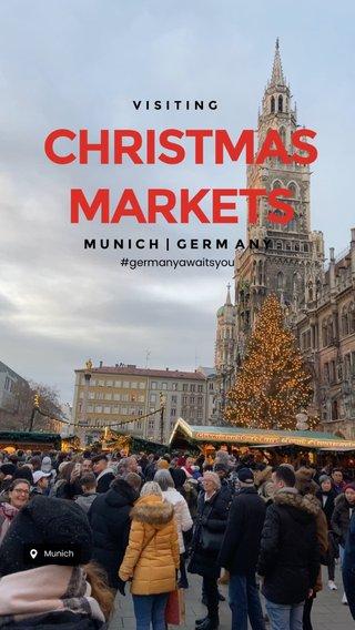 CHRISTMASMARKETS MUNICH | GERM ANY VISITING #germanyawaitsyou