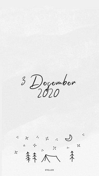 3 Desember 2020