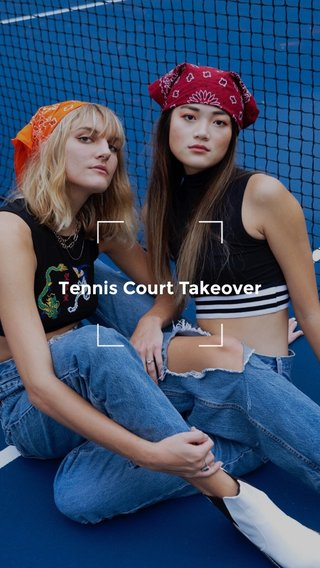 Tennis Court Takeover