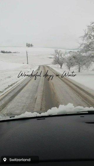 Wonderful days in Winter