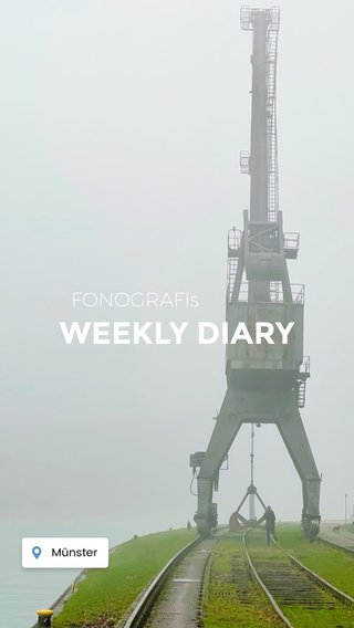 WEEKLY DIARY FONOGRAFIs