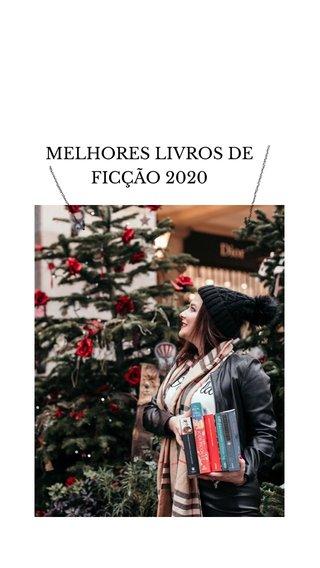 MELHORES LIVROS DE FICÇÃO 2020