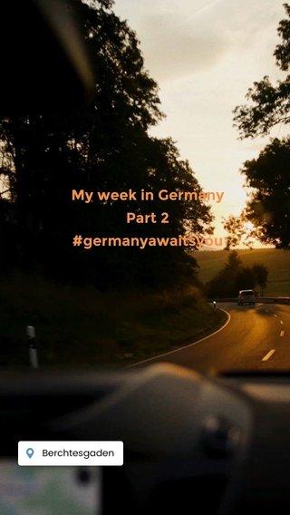 My week in Germany Part 2 #germanyawaitsyou