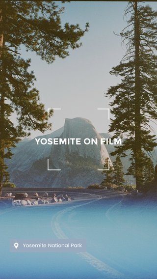 YOSEMITE ON FILM