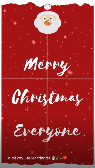 To all my Steller friends 🎅🏽🎄🦌❤️