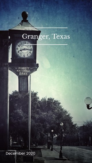 Granger, Texas December 2020