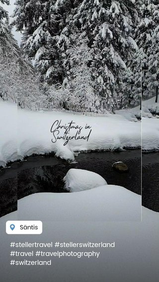 Christmas in Switzerland #stellertravel #stellerswitzerland #travel #travelphotography #switzerland