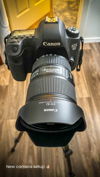 New camera setup 👌🏼