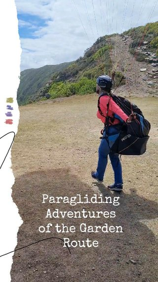 Paragliding Adventures of the Garden Route