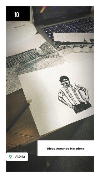 10 Diego Armando Maradona
