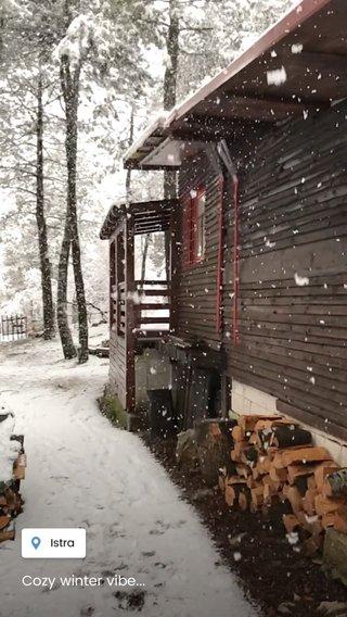 Cozy winter vibe...