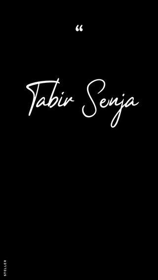 Tabir Senja