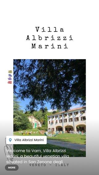 Villa Albrizzi Marini Welcome to Vam, Villa Albrizzi Marini, a beautiful venetian villa situated in San Zenone degli Ezzelini - Italy #steller #closetohome #discover #explore #stelleritalia #stelleritaly VENETO - ITALY