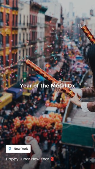 Year of the Metal Ox Happy Lunar New Year 🧧