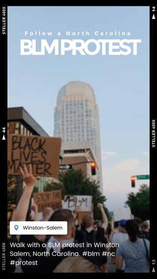 BLM PROTEST Walk with a BLM protest in Winston Salem, North Carolina. #blm #nc #protest Follow a North Carolina