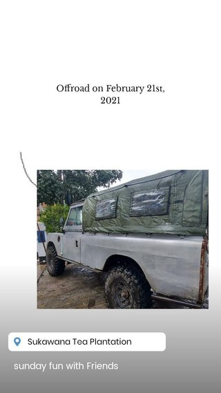 sunday fun with Friends Offroad on February 21st, 2021