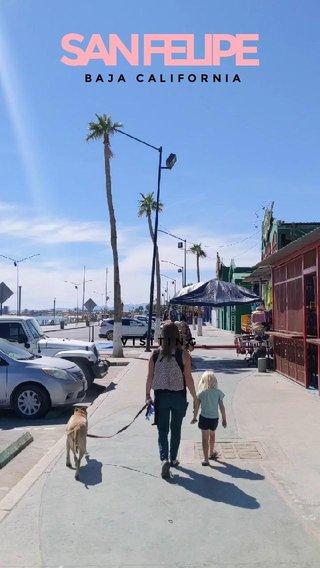 SAN FELIPE VISITING BAJA CALIFORNIA