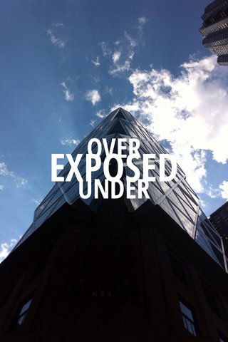 EXPOSED OVER UNDER