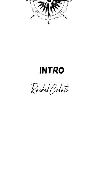 Intro RachelColato