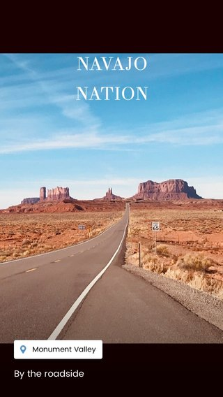 NAVAJO NATION By the roadside