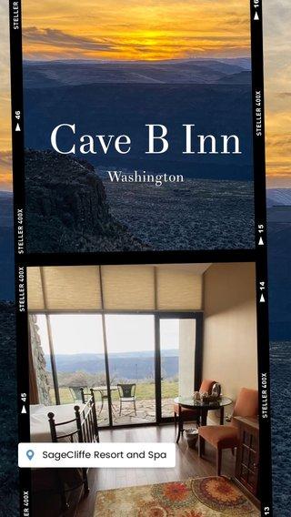 Cave B Inn Washington