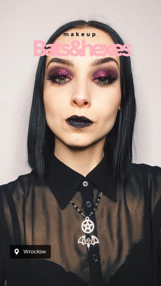 Bats&hexes makeup