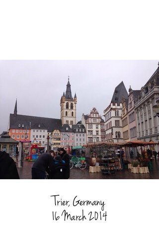 Trier, Germany 16 March 2014