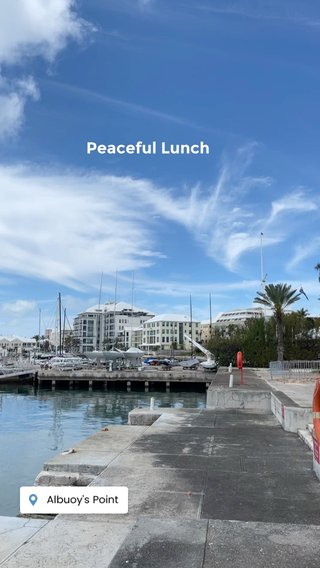 Peaceful Lunch