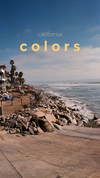 colors california