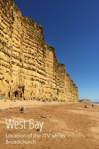 West Bay Location of the ITV series Broadchurch
