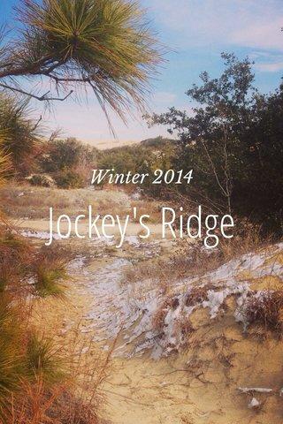 Jockey's Ridge Winter 2014