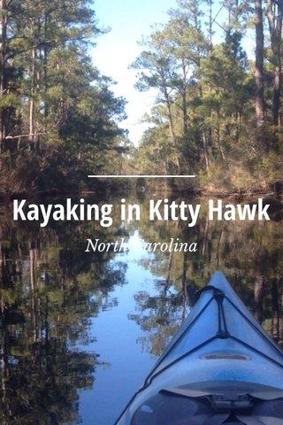 Kayaking in Kitty Hawk North Carolina