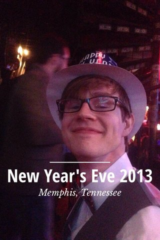 New Year's Eve 2013 Memphis, Tennessee