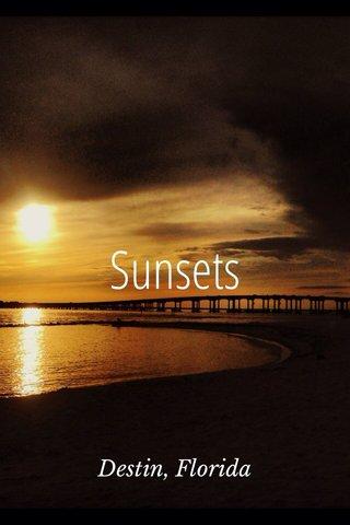 Sunsets Destin, Florida